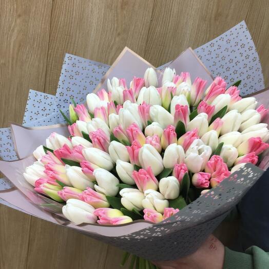 Букет 201 тюльпан