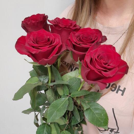 Букет 5 роз