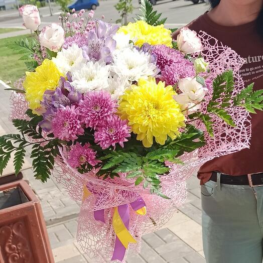 """Букет """" цветочный бал """""""