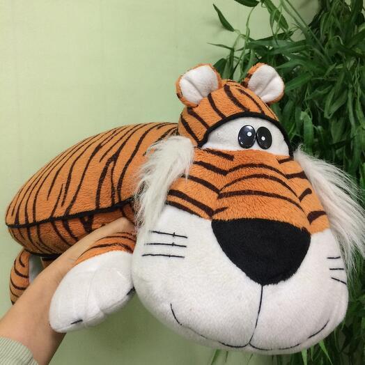 Мягкая игрушка Подушка Тигр