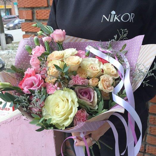 Доставка цветов в йошкар оле номера, надписью милой