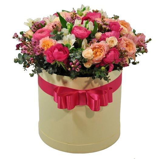 Бонет Афина: букеты цветов на заказ Flowwow