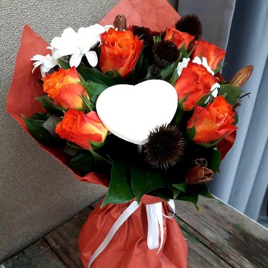 Оранжевая удача: букеты цветов на заказ Flowwow