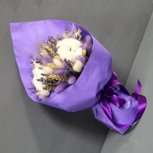 Лавандовый букет: букеты цветов на заказ Flowwow
