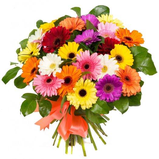 Букет 25 гербер: букеты цветов на заказ Flowwow
