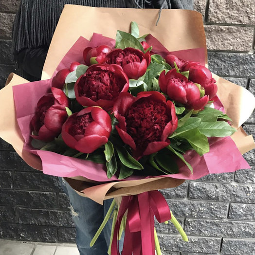 Пионы Шарм: букеты цветов на заказ Flowwow