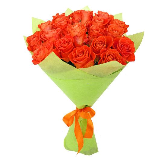 Букет 21 19 шт 50см: букеты цветов на заказ Flowwow