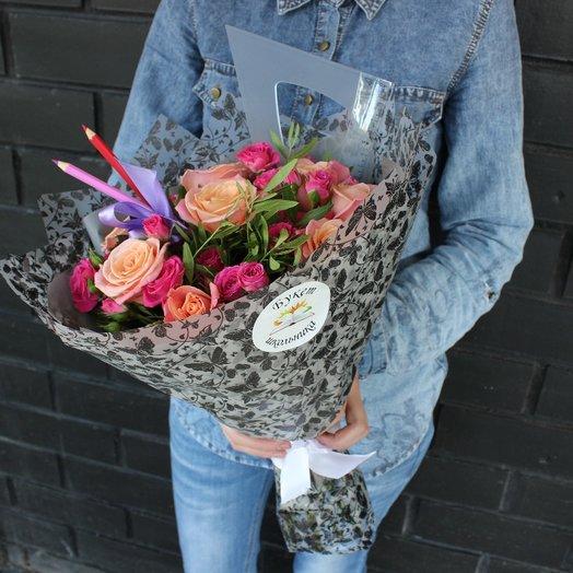 Букет маме: букеты цветов на заказ Flowwow