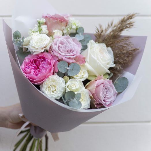 Букет Жанин: букеты цветов на заказ Flowwow
