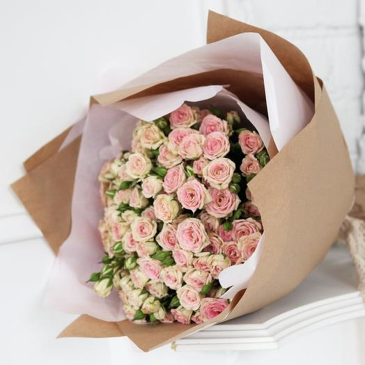 Нежность роз: букеты цветов на заказ Flowwow