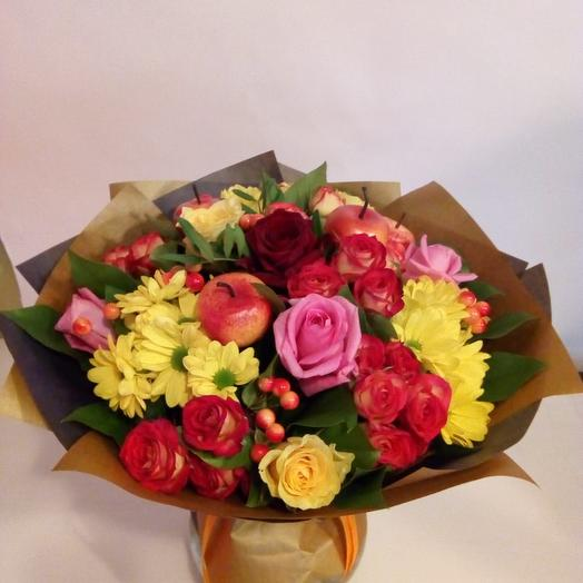 Осенний комплимент: букеты цветов на заказ Flowwow