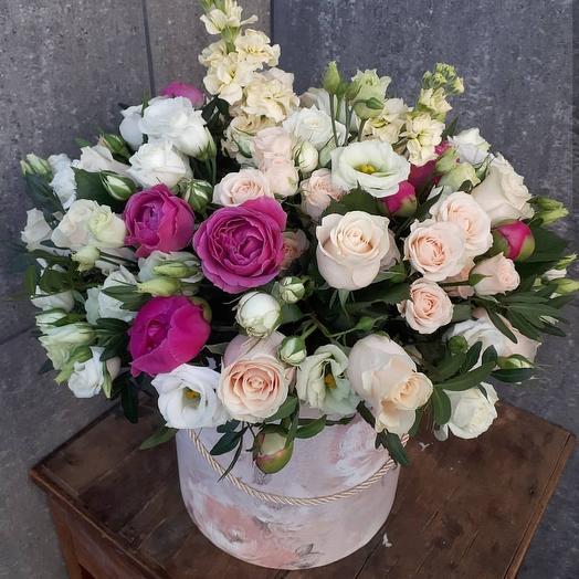 Воздушный зефир: букеты цветов на заказ Flowwow