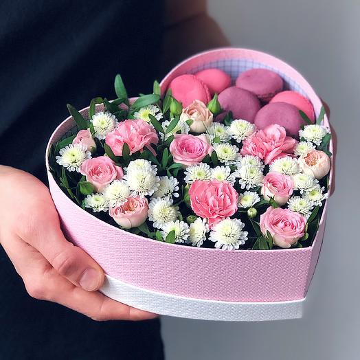 Heart 11 Среднее: букеты цветов на заказ Flowwow