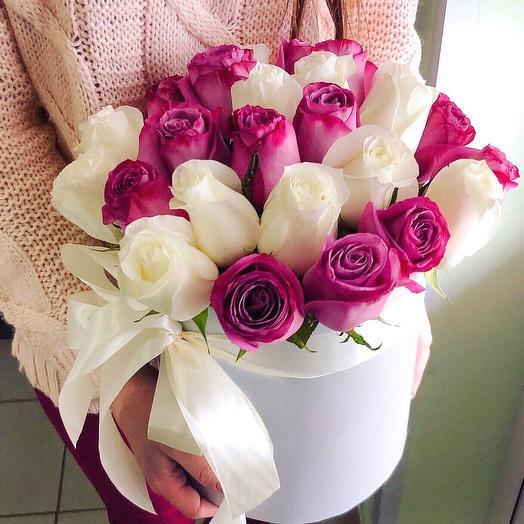 Розовая роскошь: букеты цветов на заказ Flowwow