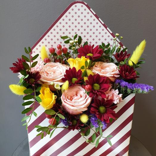 "Композиция "" яркий микс "": букеты цветов на заказ Flowwow"