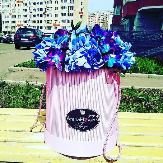 Черничный Пирог: букеты цветов на заказ Flowwow