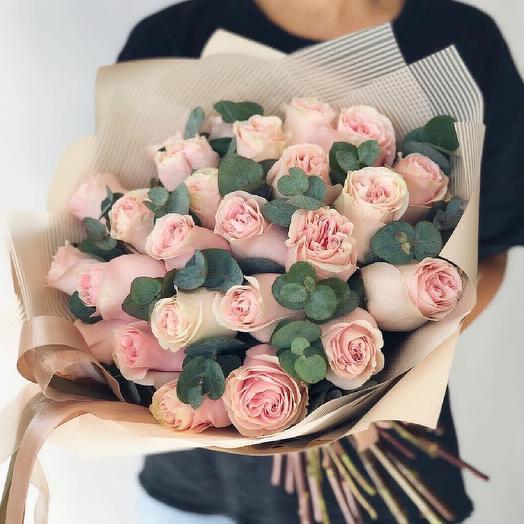 """Розы """"Дюшес"""": букеты цветов на заказ Flowwow"""