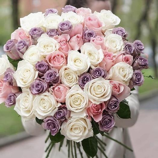 Кремовый: букеты цветов на заказ Flowwow