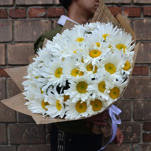 Полевая Ромашка: букеты цветов на заказ Flowwow