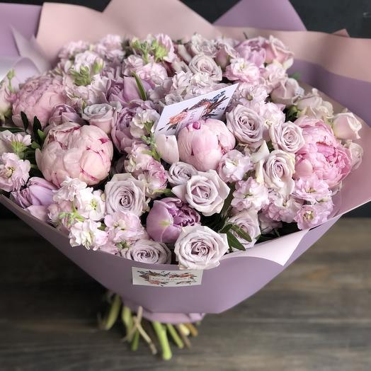 Букет «Розамунда»: букеты цветов на заказ Flowwow