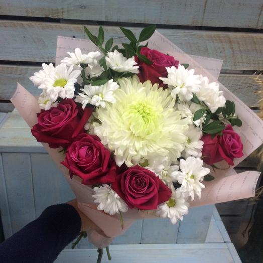 Малиновый пудинг: букеты цветов на заказ Flowwow