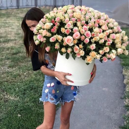 305 роз: букеты цветов на заказ Flowwow