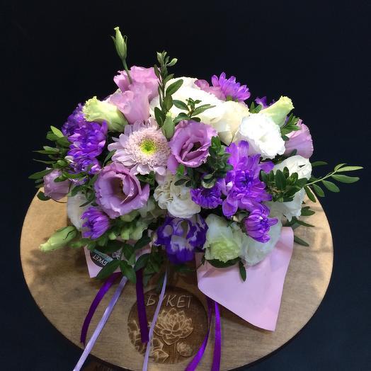 Сиреневые тона: букеты цветов на заказ Flowwow