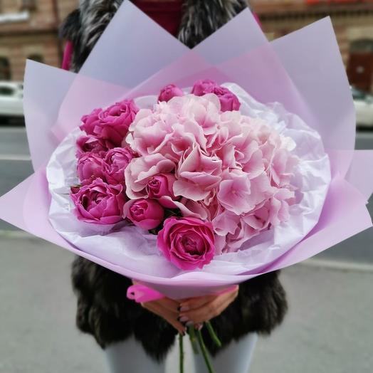 Букет для принцессы: букеты цветов на заказ Flowwow