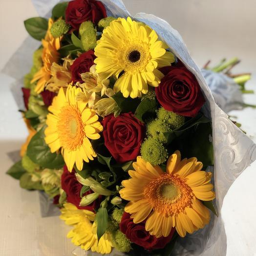 Краски сентября: букеты цветов на заказ Flowwow
