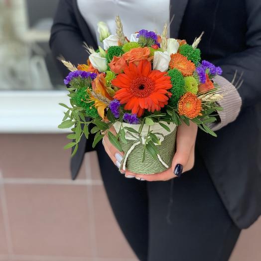 Стаканчик краски лета: букеты цветов на заказ Flowwow