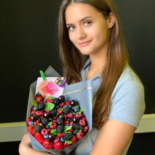 Букет из ягод сборный: букеты цветов на заказ Flowwow
