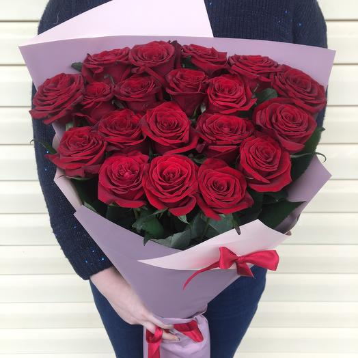 Букет из красных роз 70см: букеты цветов на заказ Flowwow
