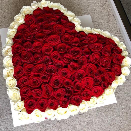 Букет Признание в любви»: букеты цветов на заказ Flowwow