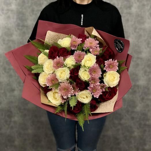 Звездный путь: букеты цветов на заказ Flowwow