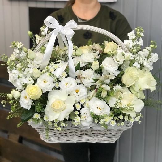 "Корзина цветов ""Воздушность"""