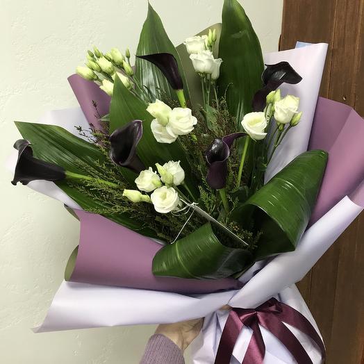 Черничные мечты: букеты цветов на заказ Flowwow