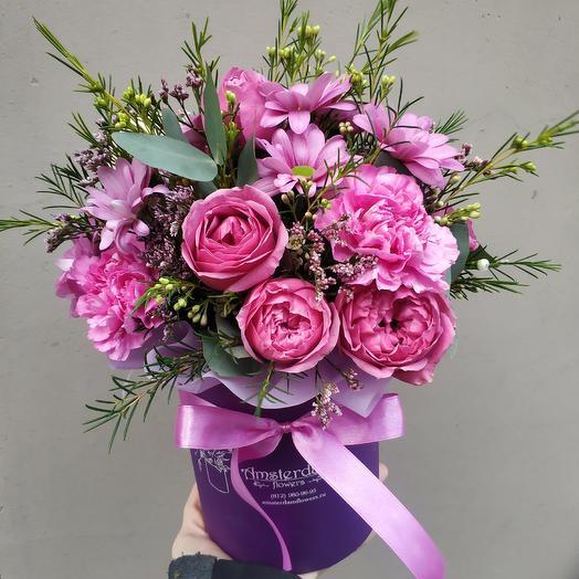Обворожительной: букеты цветов на заказ Flowwow
