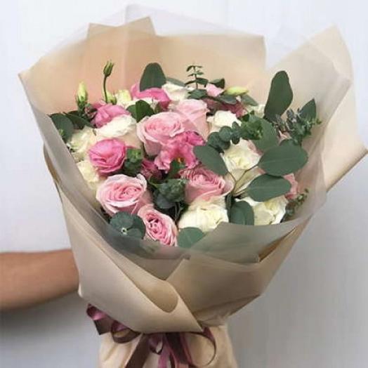 """БУКЕТ НА ДЕНЬ ВЛЮБЛЕННЫХ """"МОЯ ПРИНЦЕССА: букеты цветов на заказ Flowwow"""