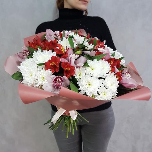 8 марта 16: букеты цветов на заказ Flowwow