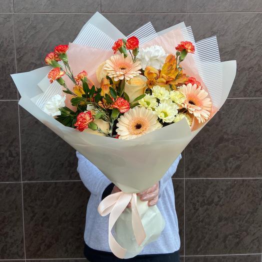 Персик🥰: букеты цветов на заказ Flowwow