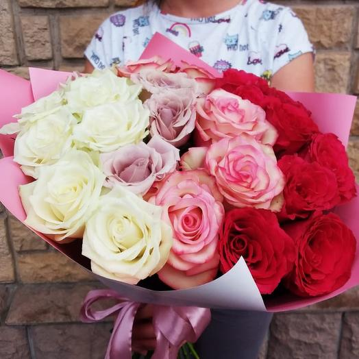 "Букет из роз ""Для тебя !"""