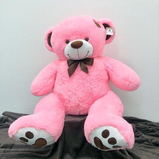 Большой Медведь Тони 150 см (розовый)