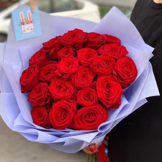 Букет роз «Лавандовые берега»