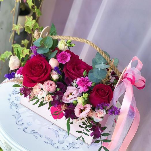 Кашпо «Цветочное лукошко»