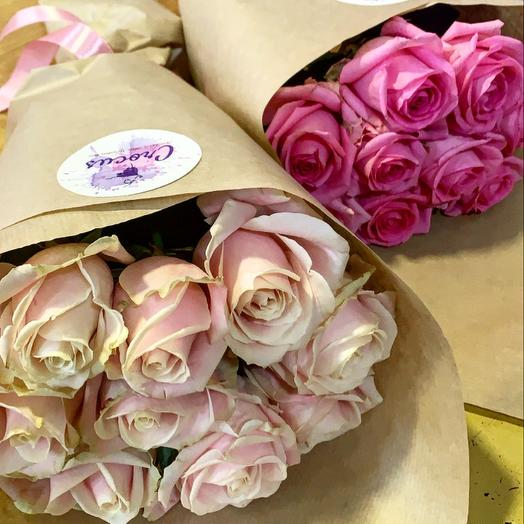 Bouquet of 9 roses