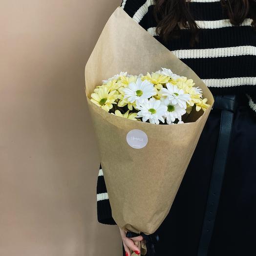Моно из хризантемы