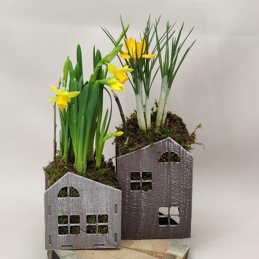 Весенние домики