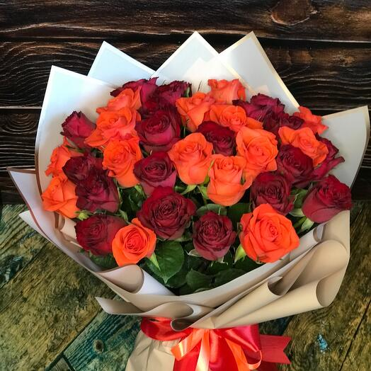 Микс 35 роз