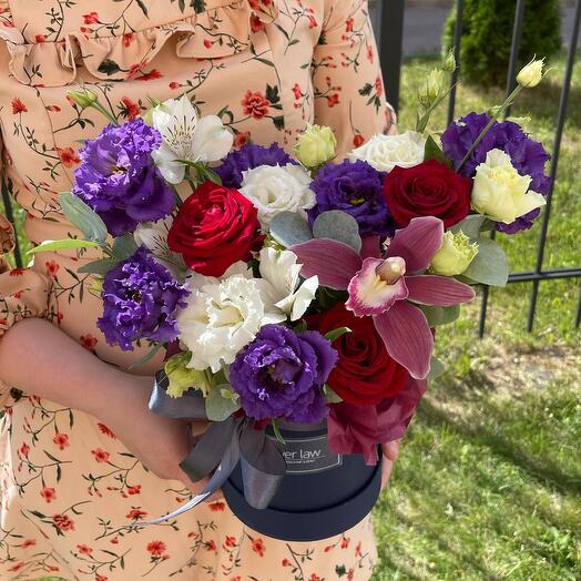 Цветы в коробке🌺