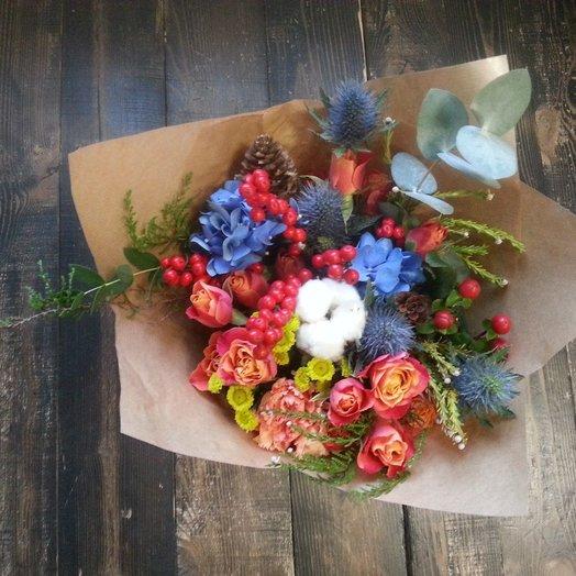Букет ягодная гортензия: букеты цветов на заказ Flowwow